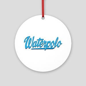 waterpolo Round Ornament