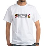 Impeach O'Malley White T-Shirt