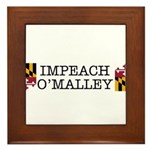 Impeach O'Malley Framed Tile