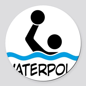 waterpolo Round Car Magnet