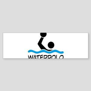 waterpolo Bumper Sticker
