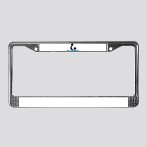 waterpolo License Plate Frame