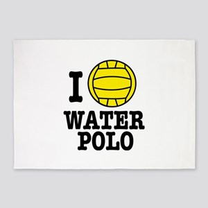 waterpolo 5'x7'Area Rug