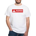 Warning! Choking Hazard White T-Shirt