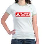 Warning! Choking Hazard Jr. Ringer T-Shirt