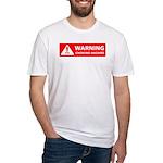 Warning! Choking Hazard Fitted T-Shirt