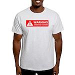 Warning! Choking Hazard Light T-Shirt