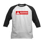 Warning! Choking Hazard Kids Baseball Jersey