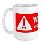 Warning! Choking Hazard Large Mug