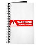 Warning! Choking Hazard Journal