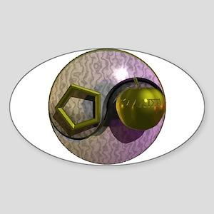 Sacred Chao Oval Sticker