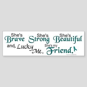 Lucky Me 1 (Friend OC) Bumper Sticker