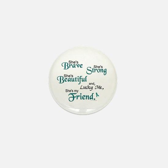Lucky Me 1 (Friend OC) Mini Button