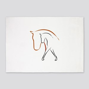 Pferd 5'x7'Area Rug