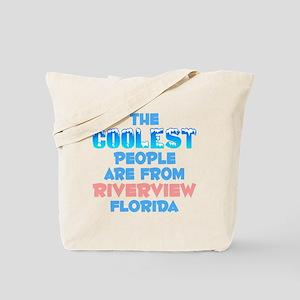 Coolest: Riverview, FL Tote Bag