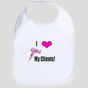 I Love (Heart) My Clients (Pi Bib