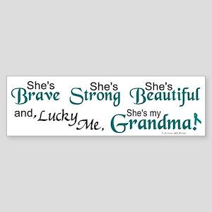 Lucky Me 1 (Grandma OC) Bumper Sticker
