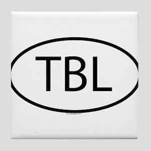 TBL Tile Coaster