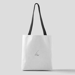 Acute Angle Polyester Tote Bag