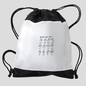 Beautiful (math) dance moves Drawstring Bag