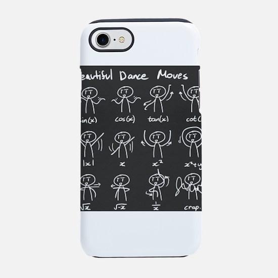 Beautiful (math) dance moves iPhone 8/7 Tough Case