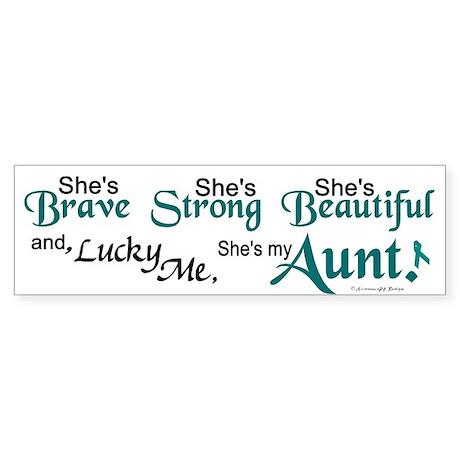 Lucky Me 1 (Aunt OC) Bumper Sticker