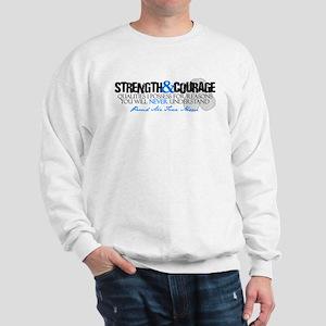 Courage&Strength AF Mom Sweatshirt