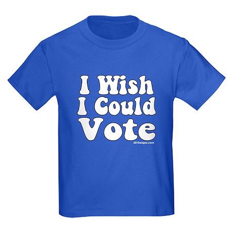 Vote Wish Kids Dark T-Shirt