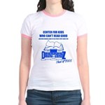Center For Kids Who Can't Rea Jr. Ringer T-Shirt