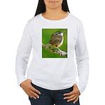 Carolina Wren Women's Long Sleeve T-Shirt