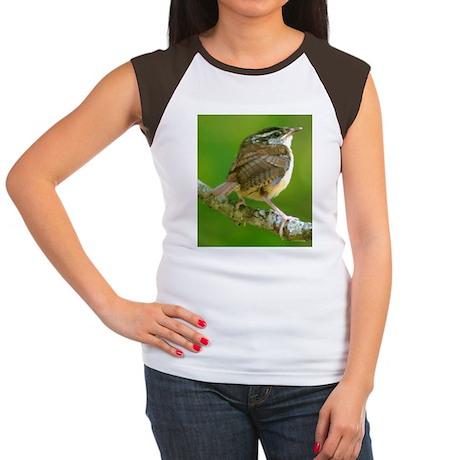 Carolina Wren Women's Cap Sleeve T-Shirt