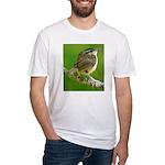 Carolina Wren Fitted T-Shirt