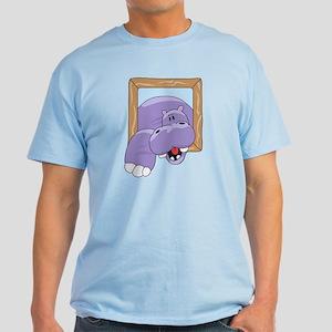 Coming & Going Hippo Light T-Shirt