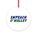 Impeach O'Malley Ornament (Round)