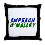 Impeach O'Malley Throw Pillow