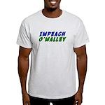 Impeach O'Malley Light T-Shirt
