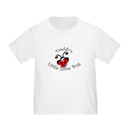 Daddy's Little Love Bug Toddler T-Shirt