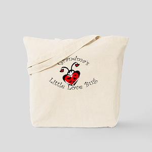 Grandma's Little Love Bug Tote Bag
