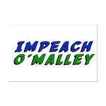 Impeach O'Malley Mini Poster Print
