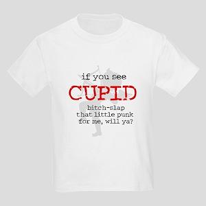 Bitch-Slap Cupid Kids Light T-Shirt