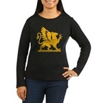 Gryphon Women's Long Sleeve Dark T-Shirt