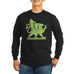 Gryphon Long Sleeve Dark T-Shirt