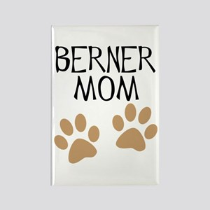 Big Paws Berner Mom Rectangle Magnet