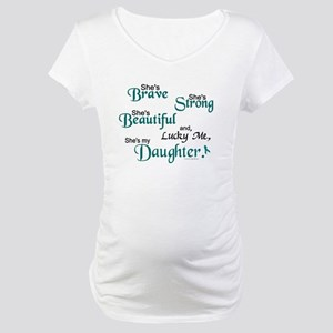Lucky Me 1 (Daughter OC) Maternity T-Shirt