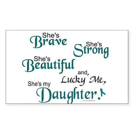 Lucky Me 1 (Daughter OC) Rectangle Sticker