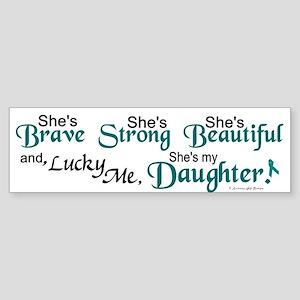 Lucky Me 1 (Daughter OC) Bumper Sticker