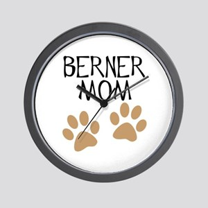 Big Paws Berner Mom Wall Clock