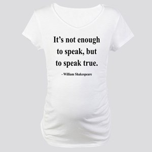 Shakespeare 22 Maternity T-Shirt