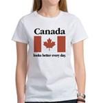 Canada Looks Better Every Day Women's T-Shirt