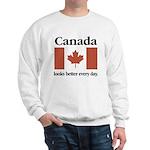 Canada Looks Better Every Day Sweatshirt
